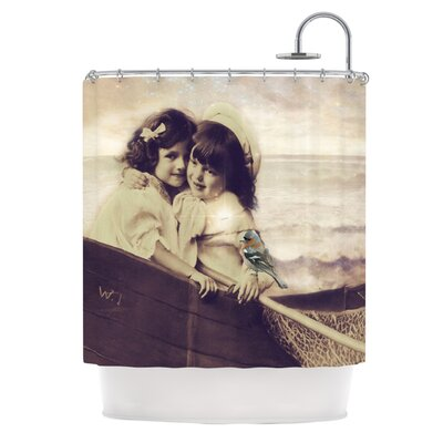 Suzannne Carter Journey Polyester Shower Curtain