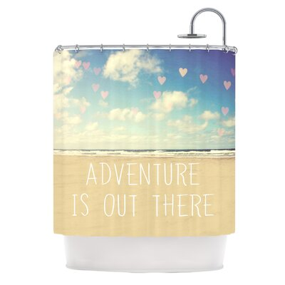 Adventure is Out There Polyester Shower Curtain