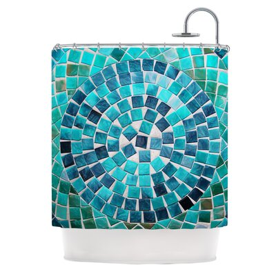 Circular Polyester Shower Curtain