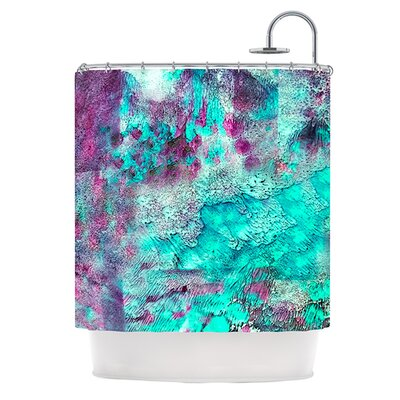Think Outside The Box Polyester Shower Curtain