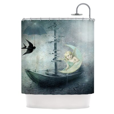 Rain Polyester Shower Curtain