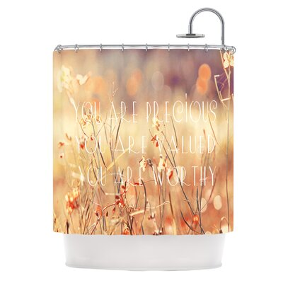 You Are Precious Polyester Shower Curtain