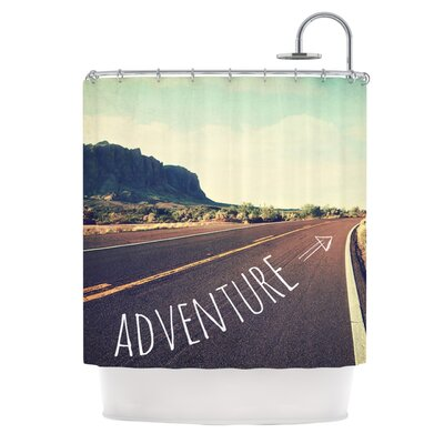 Adventure Polyester Shower Curtain