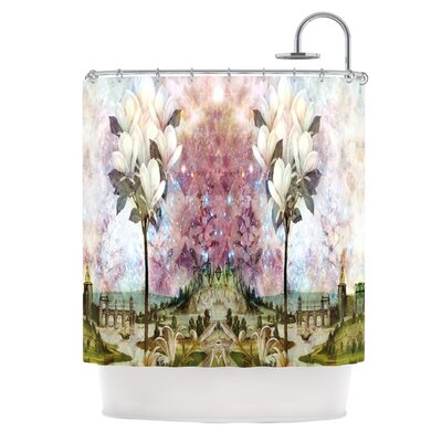 The Magnolia Trees Polyester Shower Curtain