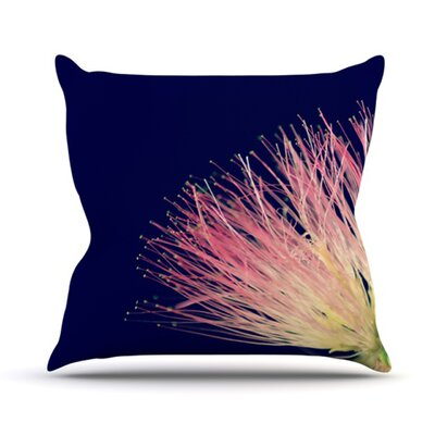 Oh Happy Day Throw Pillow Size: 18 H x 18 W