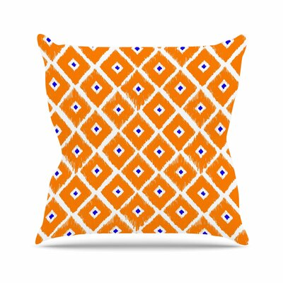 Chirp Throw Pillow Size: 18 H x 18 W