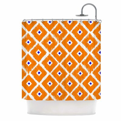 Chirp Polyester Shower Curtain