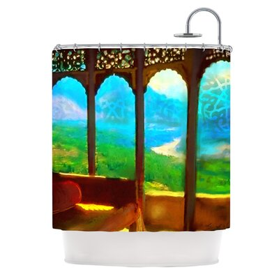 Mountain Retreat Polyester Shower Curtain