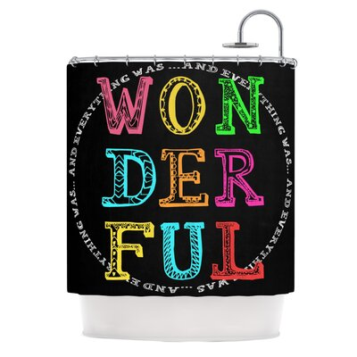 Wonderful Polyester Shower Curtain