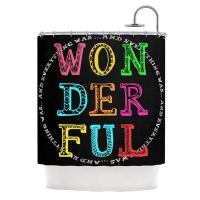 Wonderful Polyester Shower Curtain
