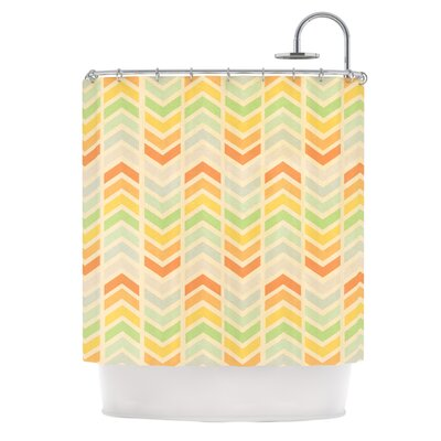 Infinity Polyester Shower Curtain