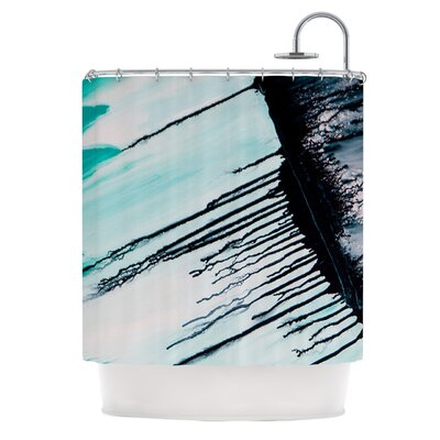 Extractions Polyester Shower Curtain