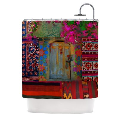 Ethnic Escape Polyester Shower Curtain