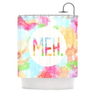 Meh Polyester Shower Curtain