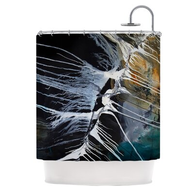 Bones Polyester Shower Curtain