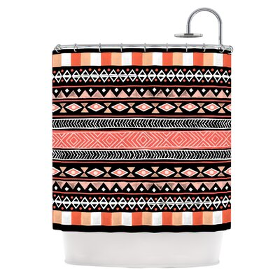 Shower Curtain Color: Mojave Black