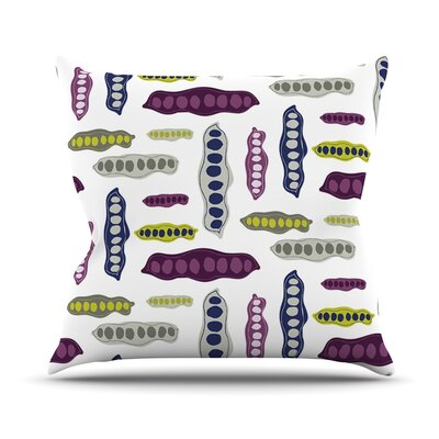 Pods Throw Pillow Size: 16 H x 16 W