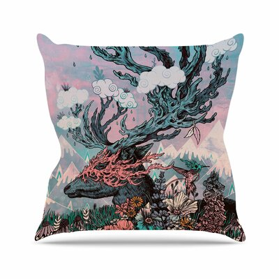 Tempest Outdoor Throw Pillow Size: 26 H x 26 W x 4 D