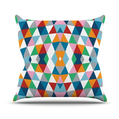 Geometric Throw Pillow Size: 18 H x 18 W