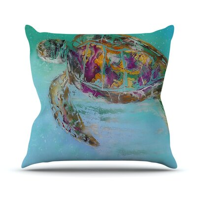 Mommy by Josh Serafin Turtle Throw Pillow Size: 16 H x 16 W x 3 D