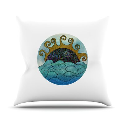 Oceania Throw Pillow Size: 18 H x 18 W