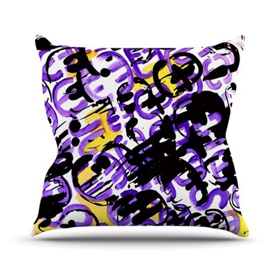 Throw Pillow Size: 16 H x 16 W, Color: Theodoras Mess