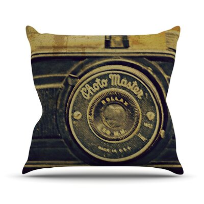 Discarded Treasure Throw Pillow Size: 18 H x 18 W