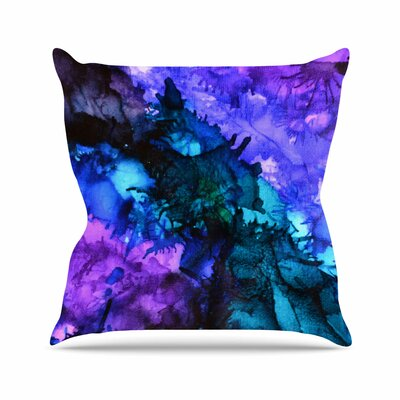 Soul Searching Outdoor Throw Pillow Size: 18 H x 18 W x 3 D