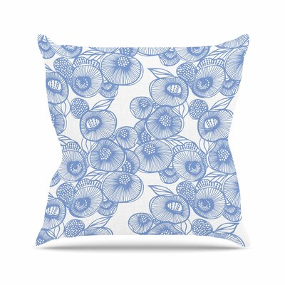 Eastern Promise by Gill Eggleston Throw Pillow Size: 26 H x 26 W x 1 D