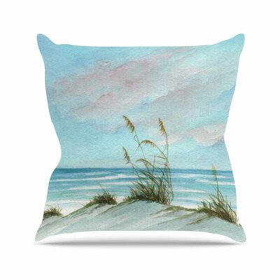Sea Oats Outdoor Throw Pillow Size: 18 H x 18 W x 3 D