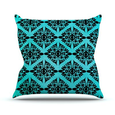 Eye Symmetry Pattern Throw Pillow Size: 18 H x 18 W
