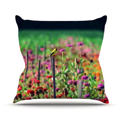 Live in The Sunshine Throw Pillow Size: 26 H x 26 W