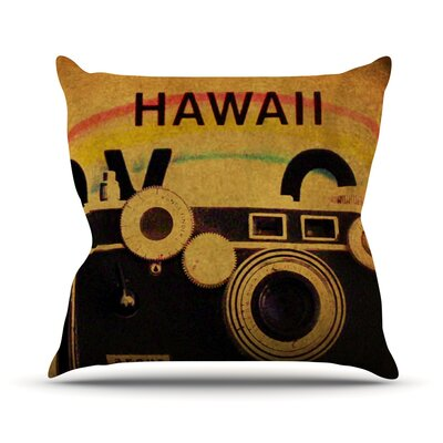 Ingredients Throw Pillow Size: 26 H x 26 W