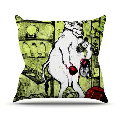 Taurus Throw Pillow Size: 26 H x 26 W