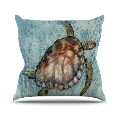 Home Bound Outdoor Throw Pillow Size: 18 H x 18 W x 3 D