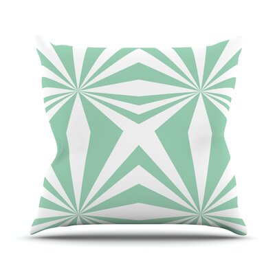 Starburst Throw Pillow Size: 26 H x 26 W
