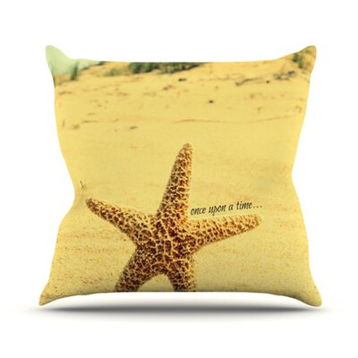 Once Upon A Time Throw Pillow Size: 26 H x 26 W