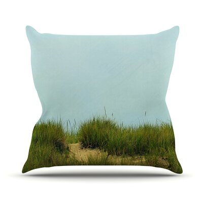 Hand in Hand Throw Pillow Size: 18 H x 18 W
