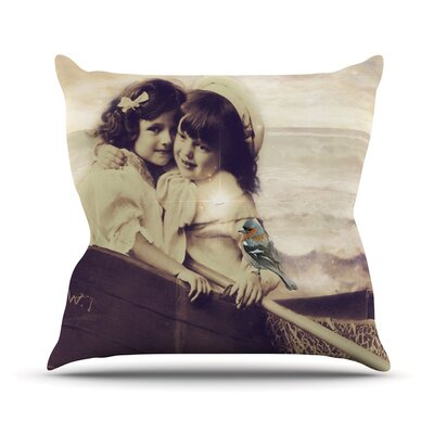 Journey Throw Pillow Size: 18 H x 18 W