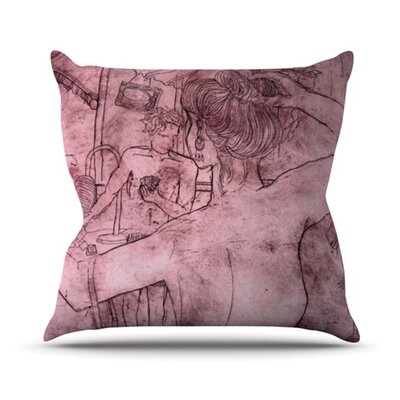 Magic Tricks Throw Pillow Size: 18 H x 18 W