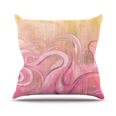 Cascade Outdoor Throw Pillow Size: 20 H x 20 W x 4 D