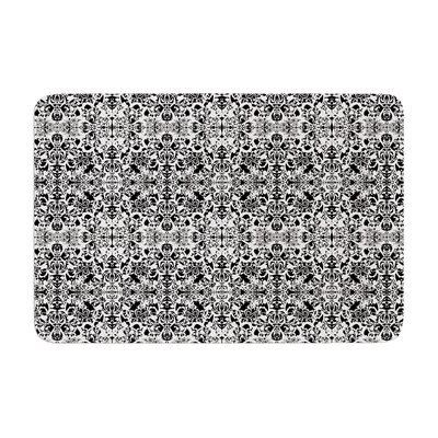 Mydeas Fancy Damask Memory Foam Bath Rug