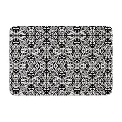 Mydeas Diamond Illusion Damask Pattern Memory Foam Bath Rug