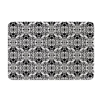 Mydeas Illusion Damask Memory Foam Bath Rug