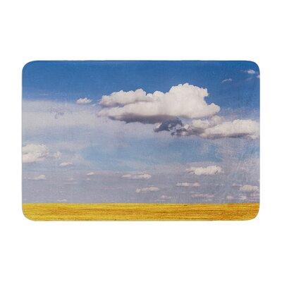 Ann Barnes Big Sky Clouds Memory Foam Bath Rug