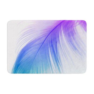 Alison Coxon Feather Colour Memory Foam Bath Rug