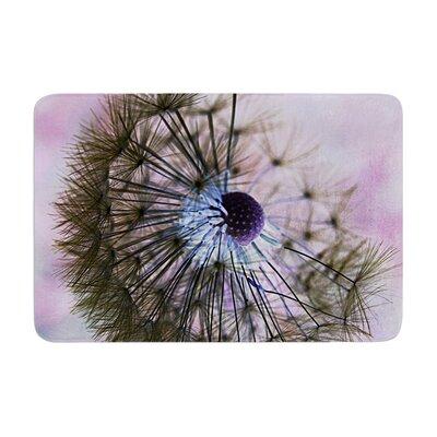 Alison Coxon Dandelion Clock Memory Foam Bath Rug