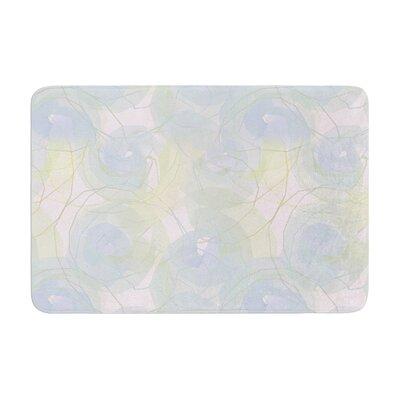 Alison Coxon Paper Flower Memory Foam Bath Rug