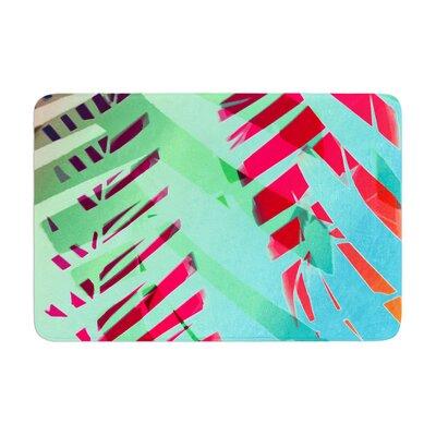 Alison Coxon Cool Tropical Memory Foam Bath Rug