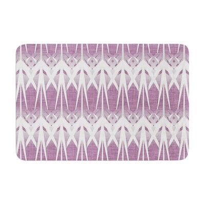 Alison Coxon Arrow Lavender Memory Foam Bath Rug